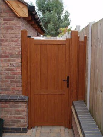 Made to measure uPVC plastic gate